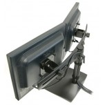 Крепление Ergotron DS100 настольное для 2-х мониторов горизонтальное (33-322-200)