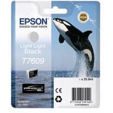 Контейнер с светло-серыми чернилами Epson T7609 для SC-P600 (C13T76094010)