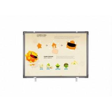 Интерактивная доска TraceBoard TI-690 с серой рамкой
