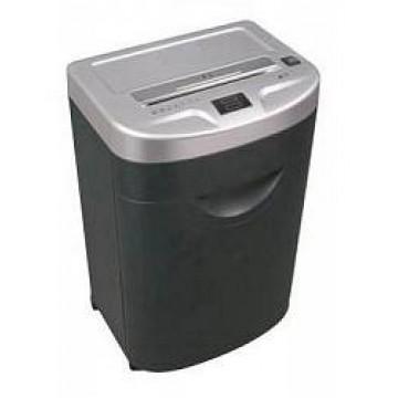 Шредер (уничтожитель) Bulros 830C чёрный/серебро (2x10 мм)