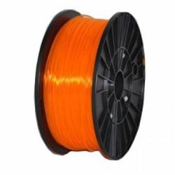 Пластик PLA прозрачно-оранжевый