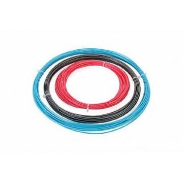 Комплект ABS-пластика ESUN 1.75 мм. для 3D ручек (голубой, розовый, серебряный), 10 метров каждого цвета