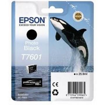 Контейнер с черными чернилами Epson T7601 для SC-P600 (C13T76014010)